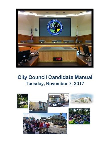 City of San Mateo Candidate manual image