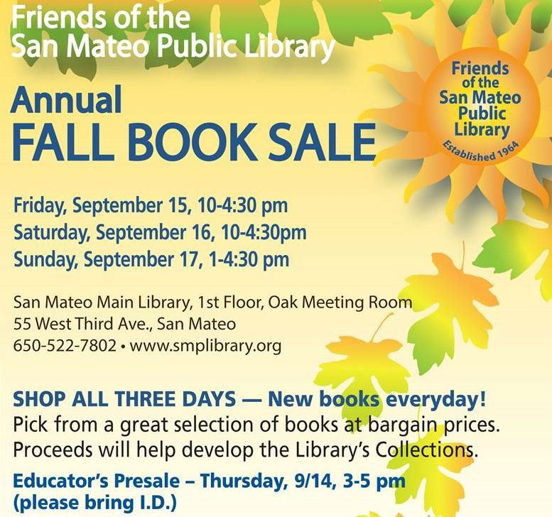 Fall Booksale Flyer Square2
