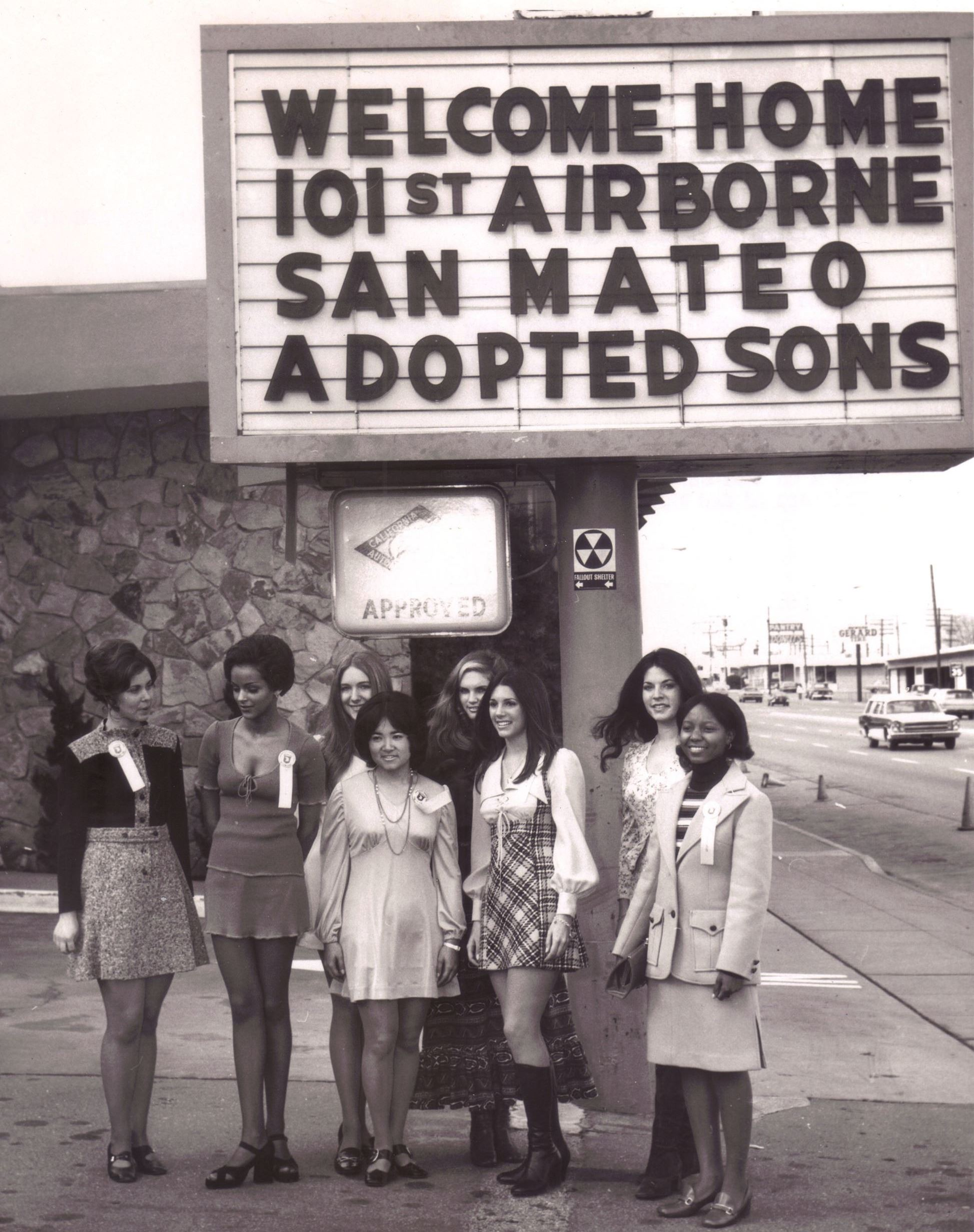 Homecoming for San Mateo Adopted Sons, Jan 22, 1972