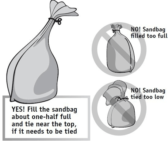 Sandbag Instructions