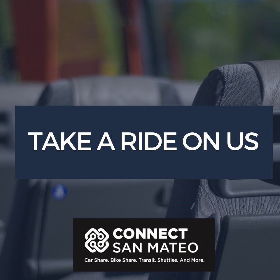 Connect San Mateo Shuttle logo