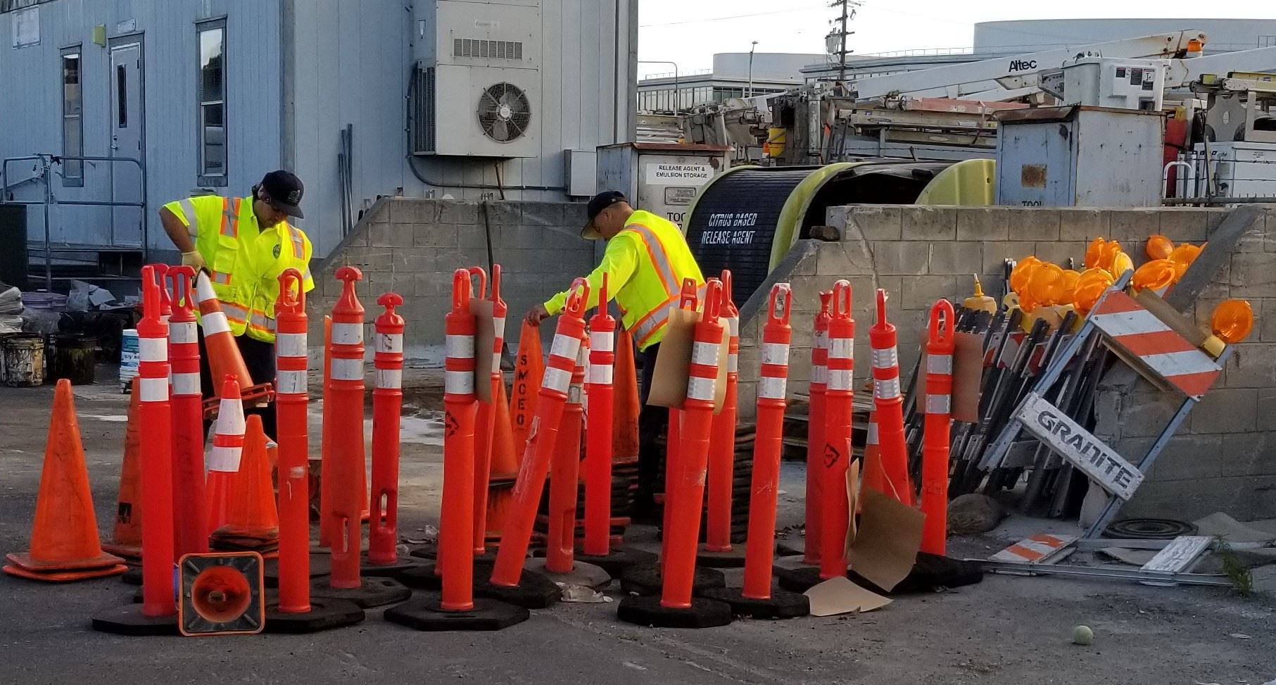 San Mateo Public Works Corp Yard - May 13 2019