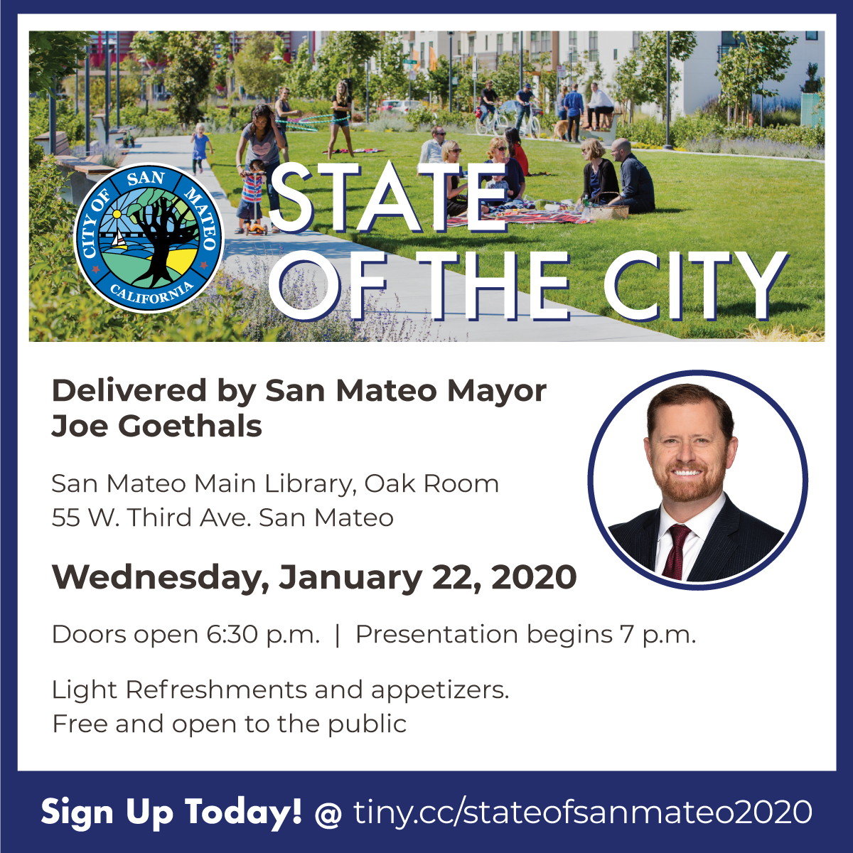 State of the City 2020 square