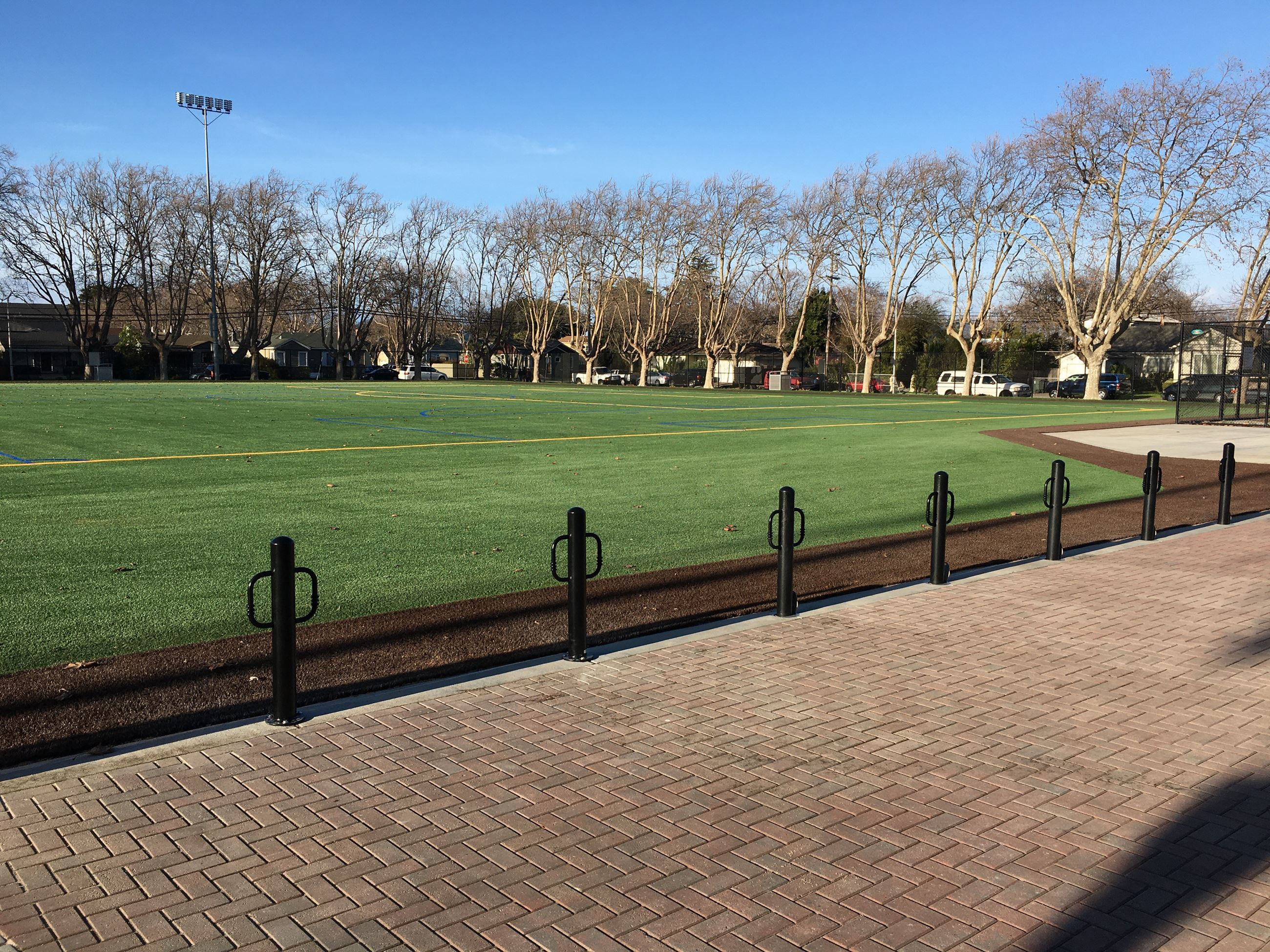 Dr. Martin Luther King Jr. Park Synthetic Turf Athletic Field
