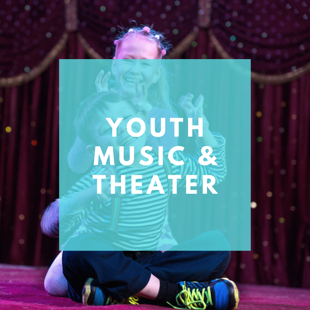 Image of Youth Music and Theater Icon.