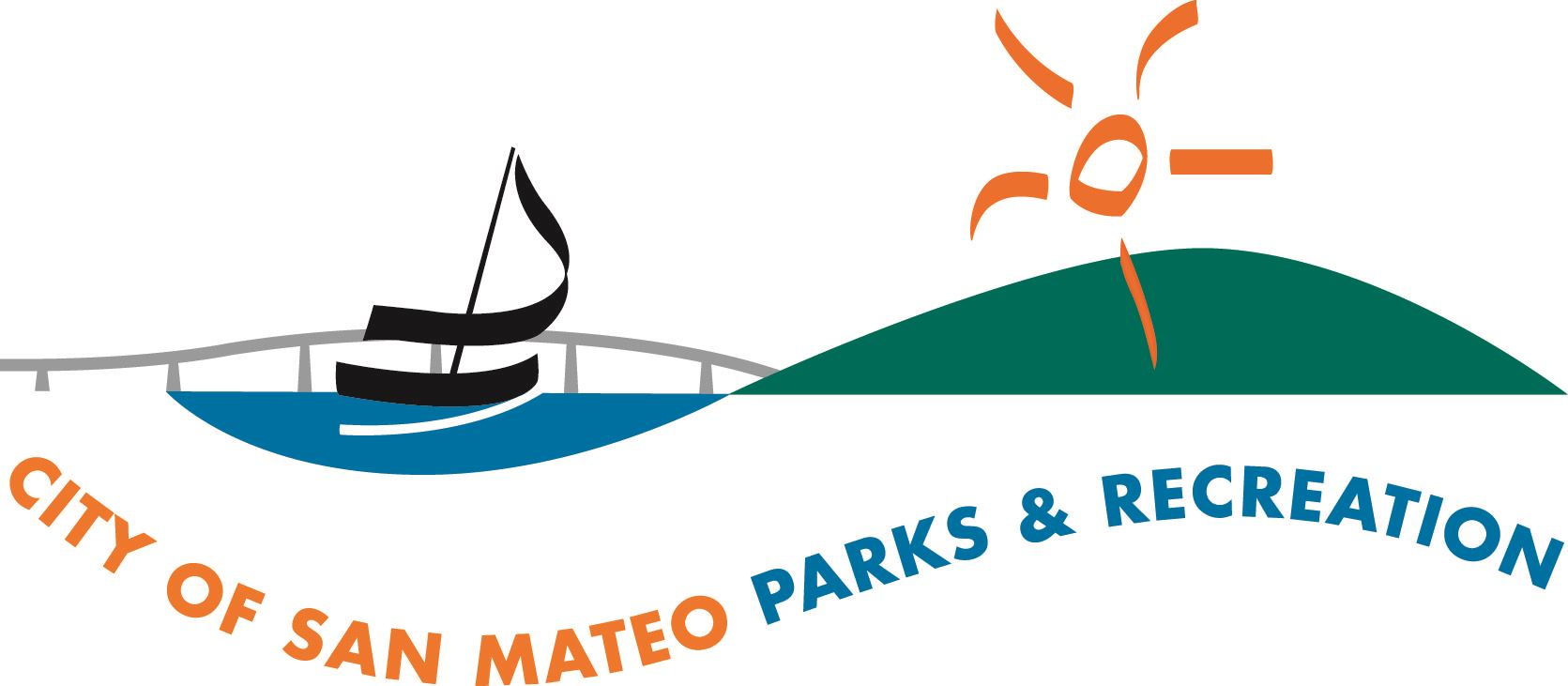 Image of the City of San Mateo Parks and Recreation Department logo.
