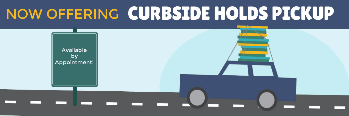Curbside Holds Pickup Banner