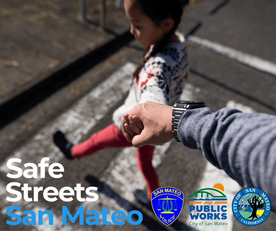 2021 Safe Streets San Mateo - kid crossing