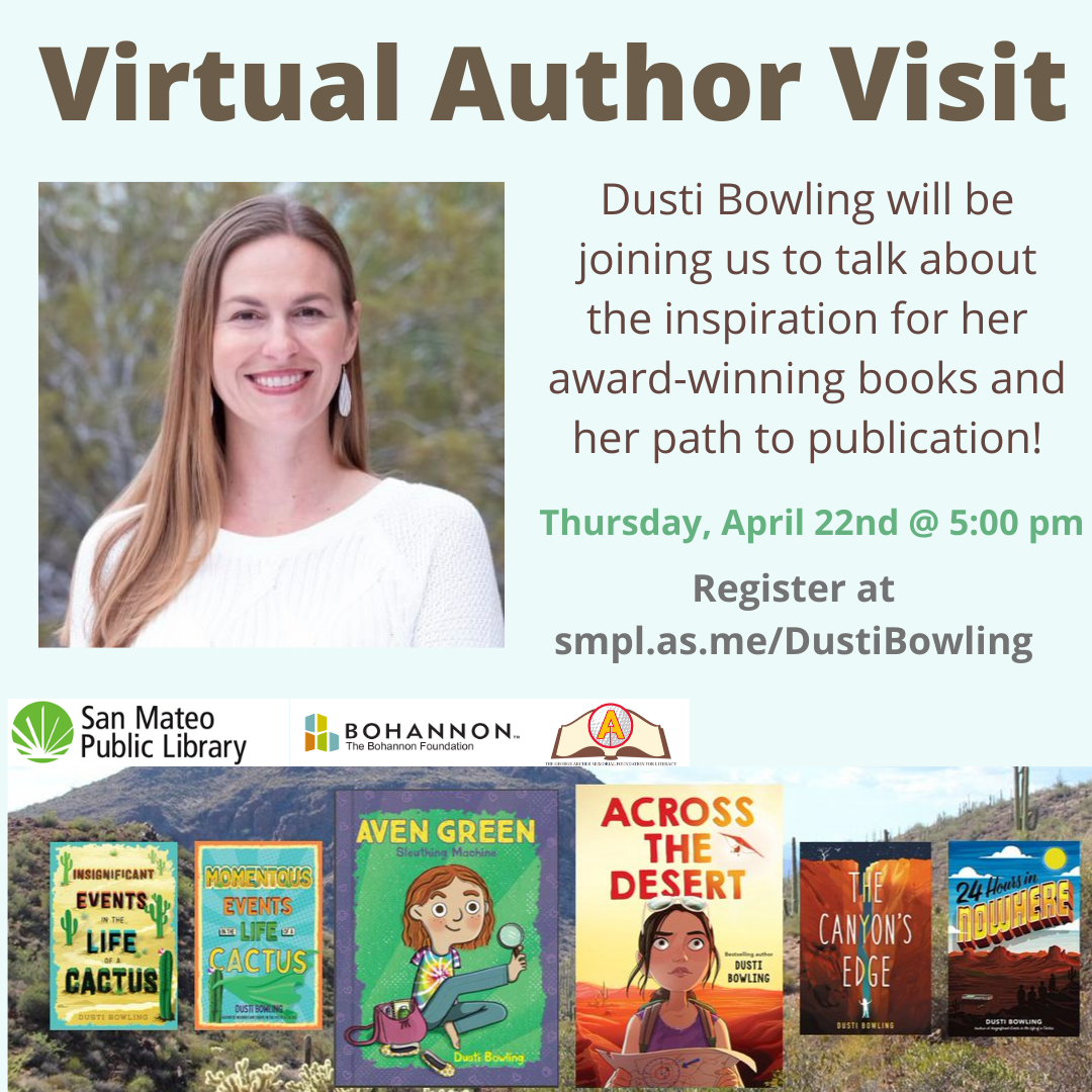 Dusti Bowling Virtual Author Visit