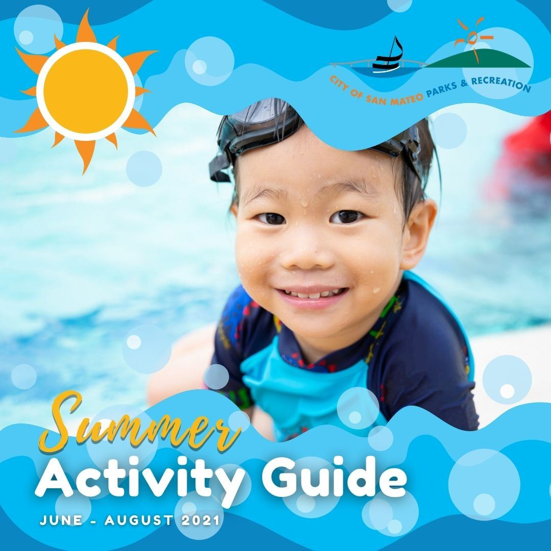 2021 Summer Activity Guide Front Cover
