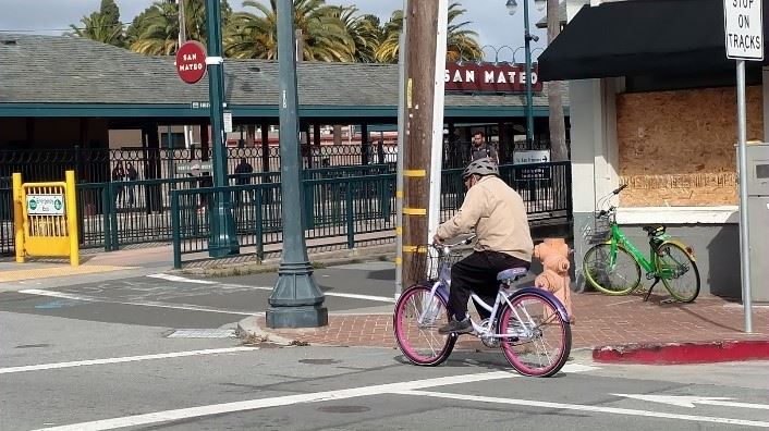 Cycling in San Mateo