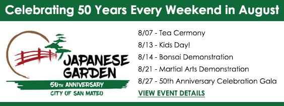 50th Anniversary - Japanese Tea Garden