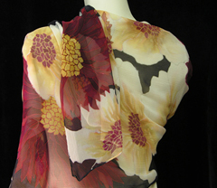 Silk Scarves by Yvonne Newhouse