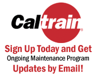 Caltrain Updates by Email