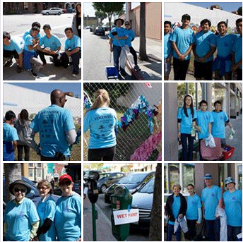 2015 Downtown Clean Up Volunteers