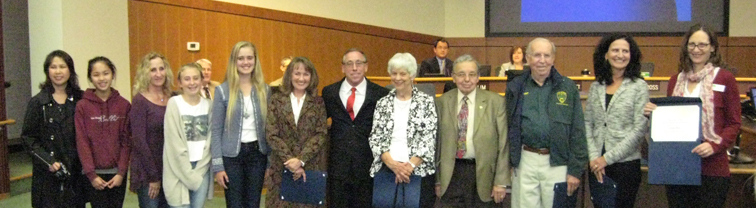 2014 Volunteer Honorees