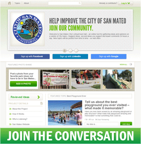SanMateoTownHall.org - Join the Conversation