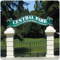 Central Park Entry off El Camino Real