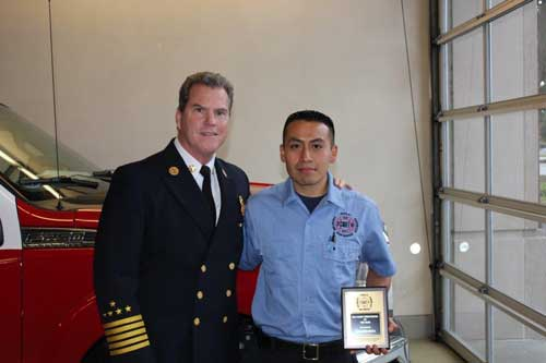 Eduardo Maya 2014 Cadet of the Year