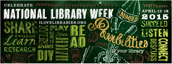 Join us for Library Week - April 12-18