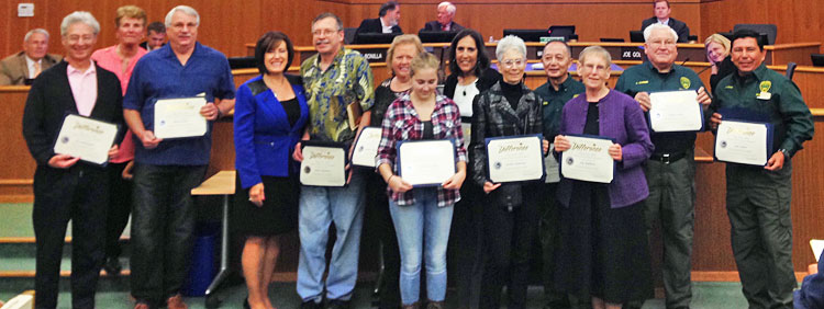 2015 Outstanding Volunteer Honorees