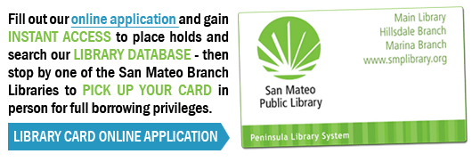 Apply for Your Library Card Today!